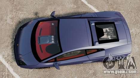 Lamborghini Gallardo 2013 for GTA 4 right view