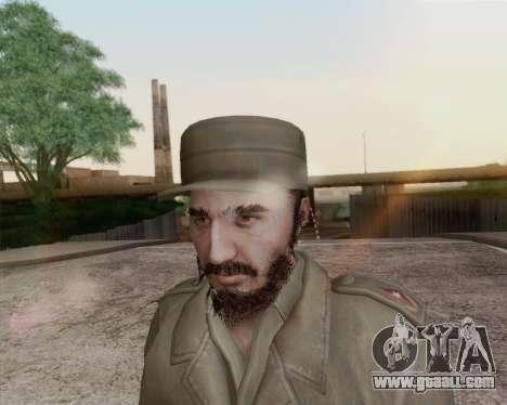 Fidel Castro for GTA San Andreas third screenshot