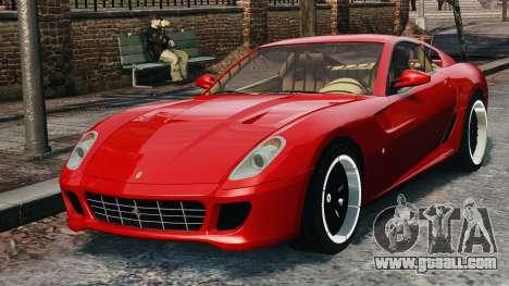 Ferrari 599 GTB Hamann 2006 for GTA 4 back view