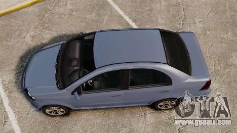 GTA V Declasse Asea I500 for GTA 4 right view