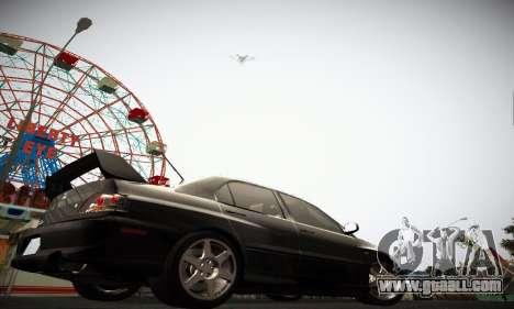 Mitsubishi Lancer Evo IX for GTA San Andreas back left view