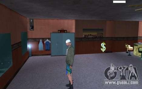 HD Skin Bum for GTA San Andreas fifth screenshot