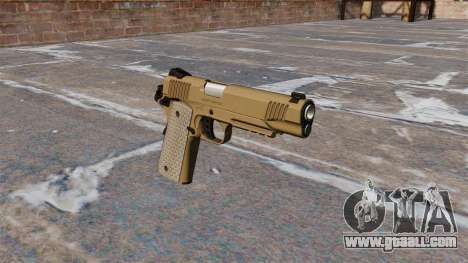 Semiautomatic pistols Kimber for GTA 4