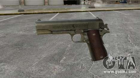 Colt M1911 pistol v5 for GTA 4 third screenshot