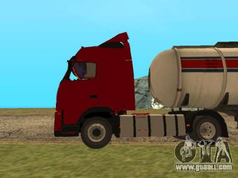Volvo FH13 for GTA San Andreas left view