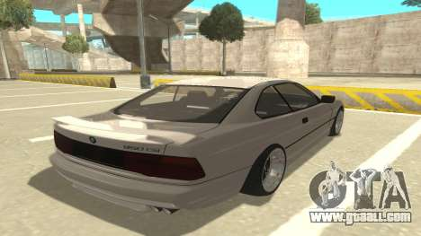 BMW 850CSi 1996 Stock version for GTA San Andreas right view