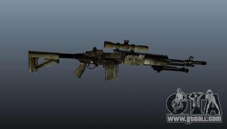 Sniper rifle M21 Mk14 v7 for GTA 4 third screenshot