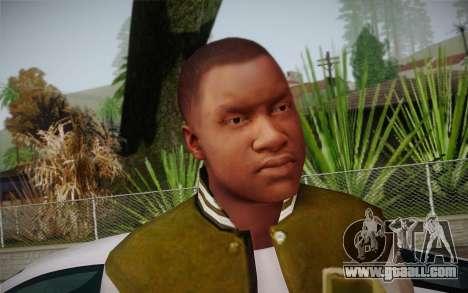 Franklin v. 2 skin for GTA San Andreas second screenshot