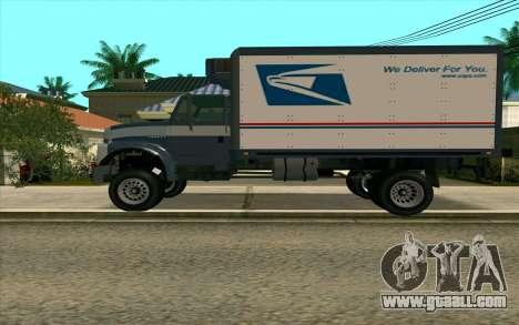 Yankee GTA 4 for GTA San Andreas left view