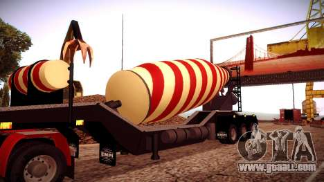 Cement Mixer for GTA San Andreas