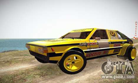 FSO Polonez 2500 Racing 1978 for GTA San Andreas left view