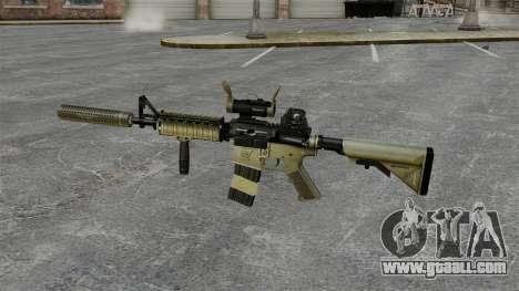 M4 carbine with silencer v1 for GTA 4 third screenshot