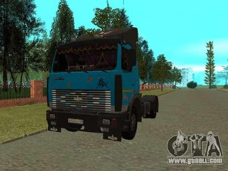 MAZ 54320 for GTA San Andreas