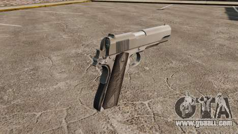 Colt M1911 pistol v3 for GTA 4 second screenshot
