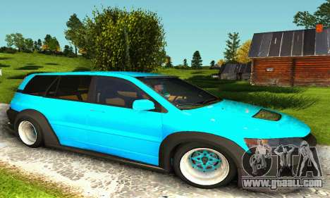 Mitsubishi Evo IX Wagon S-Tuning for GTA San Andreas left view