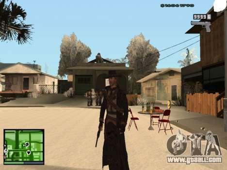 Ray Mccall of Call Of Juarez for GTA San Andreas second screenshot