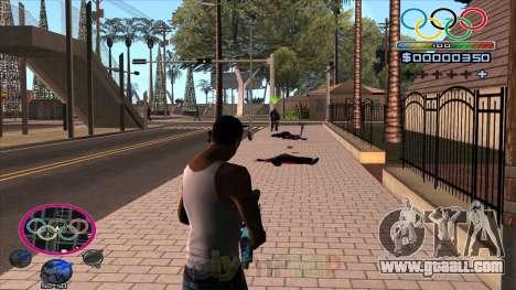 HUD Olympiade for GTA San Andreas