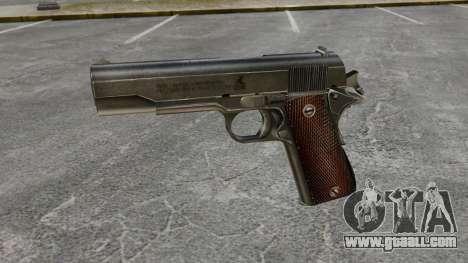 Colt M1911 pistol v4 for GTA 4 third screenshot