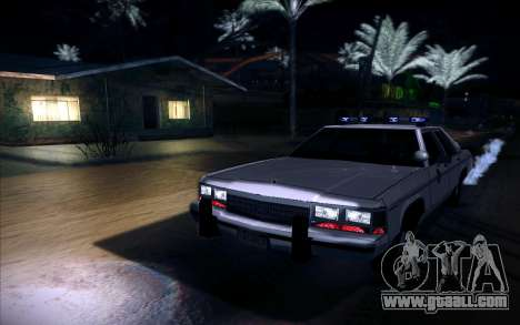 Police North Yankton for GTA San Andreas back left view
