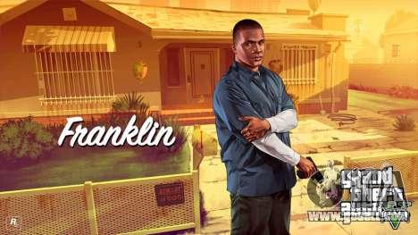 Franklin Clinton from GTA V for GTA 4 third screenshot