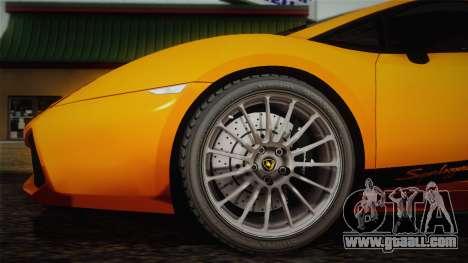 Lamborghini Gallardo Superleggera for GTA San Andreas side view