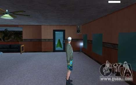 HD Skin Bum for GTA San Andreas forth screenshot