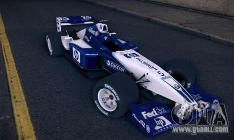 BMW Williams F1 for GTA San Andreas