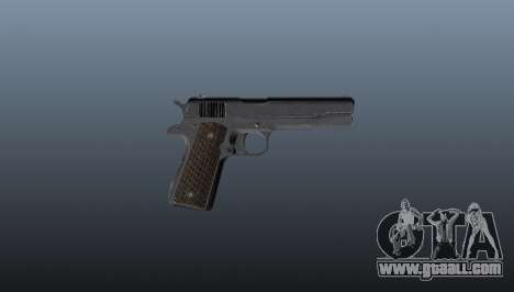 Pistol M1911 for GTA 4 third screenshot