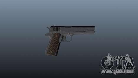 Pistol M1911 for GTA 4 third screenshot