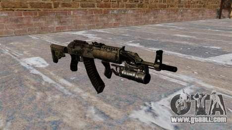 AK-47 GP-25 for GTA 4