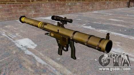 Mk153 SMAW shoulder grenade launcher Mod 0 for GTA 4