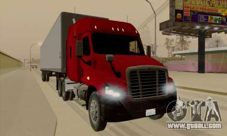Freghtliner Cascadia for GTA San Andreas left view