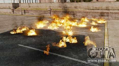 New effects of the explosion and fire for GTA 4 second screenshot