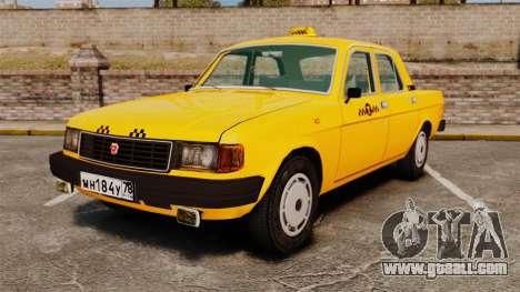 Gaz-31029 taxi for GTA 4