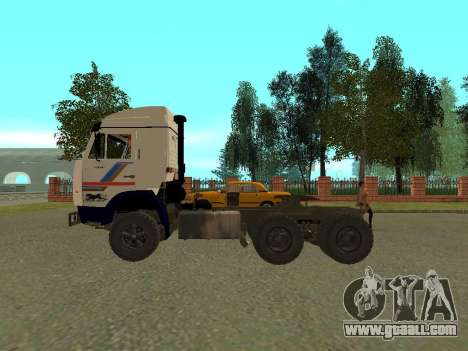 KAMAZ 5410 for GTA San Andreas back left view