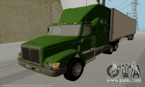 International 9400i Skyrise for GTA San Andreas left view
