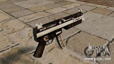 The MP5 submachine gun Head Crusher for GTA 4 second screenshot