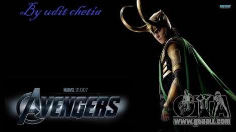 Boot screen Avengers for GTA 4 seventh screenshot