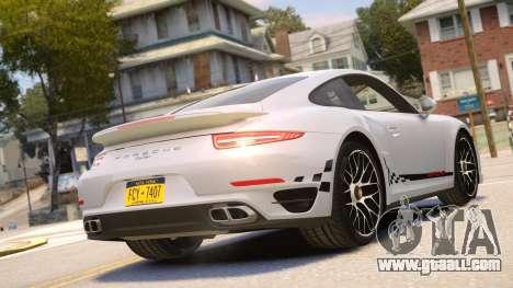 Porsche 911 Turbo 2014 [EPM] for GTA 4 right view