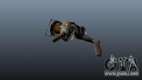 Gravity gun for GTA 4 second screenshot