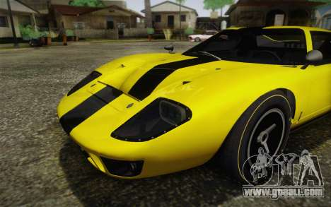 Ford GT40 MkI 1965 for GTA San Andreas back view