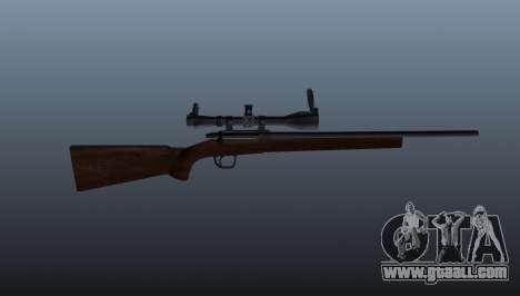 Sports sniper rifle Winchester Model 70 for GTA 4 third screenshot