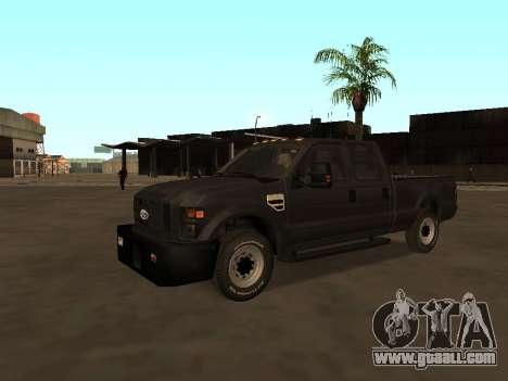 Ford F-350 ATTF for GTA San Andreas