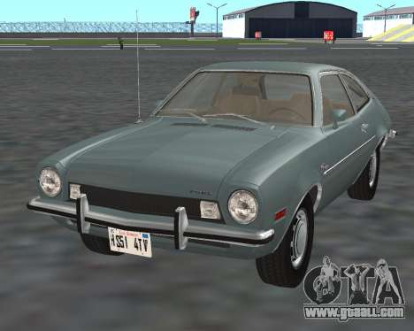 Ford Pinto 1973 for GTA San Andreas back left view