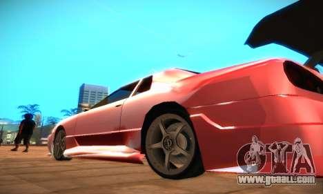 Elegy Hybrid for GTA San Andreas left view