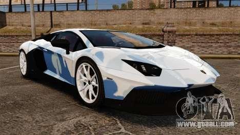 Lamborghini Aventador LP700-4 LE-C 2014 for GTA 4