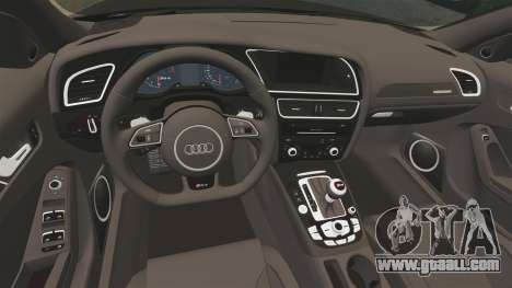 Audi RS4 Avant VVS-CV4 2013 for GTA 4 inner view