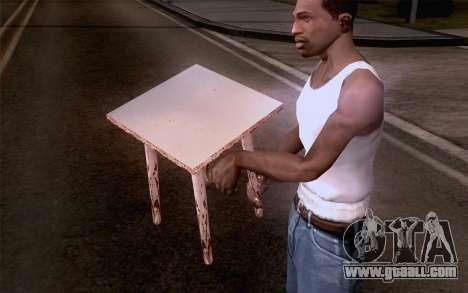 Stool for GTA San Andreas third screenshot