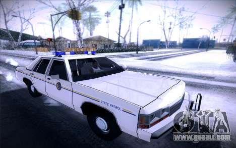 Police North Yankton for GTA San Andreas left view
