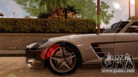 Mercedes-Benz SLS AMG 2010 for GTA San Andreas right view
